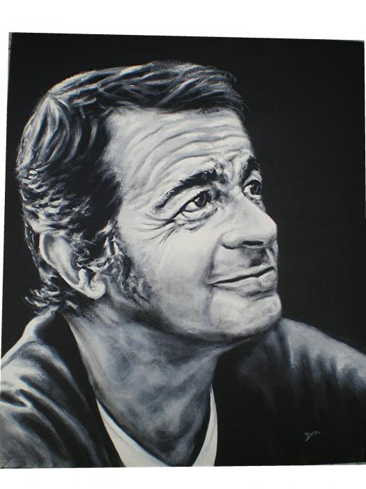 Serge Reggiani par DAN
